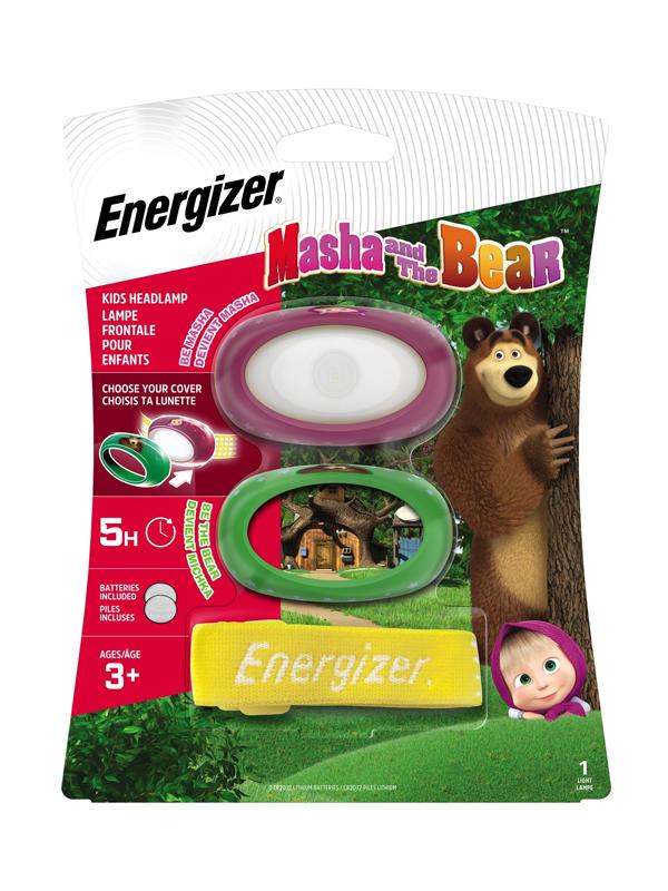 Energizer Masha & The Bear Headlight 80 Lumens