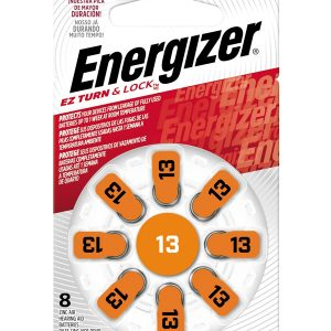 Energizer Hearing Aid Zinc Air TFT Battery: 13 8 pack