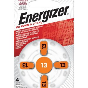 Energizer Hearing Aid Zinc Air TFT Battery: 13 4 pack