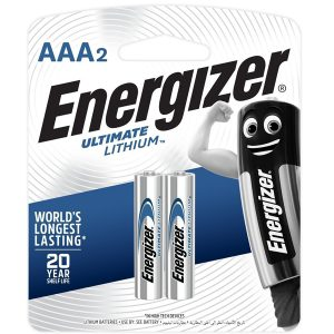 Energizer Ultimate Lithium: AAA - 2 Pack