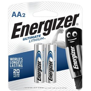 Energizer Ultimate Lithium: AA - 2 Pack
