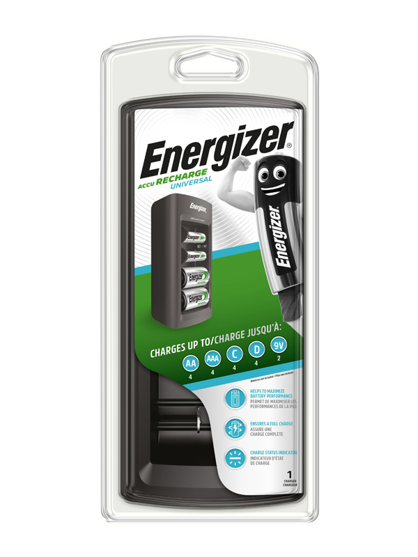 Energizer Charger :Universal Charger