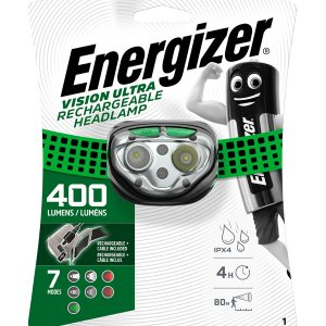 Vision Rechargeable Headlight 400 Lumens