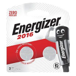 Energizer Lithium Coin: 2016 BP2