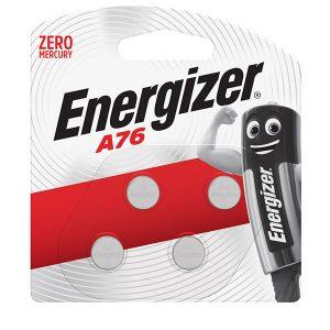 Energizer Miniature Alkaline: A76 BP4